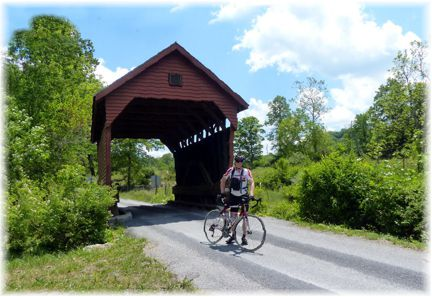 Lillydale Covered Bridge